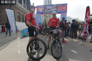 5adbd65c818 As well as putting their UK-designed Riddick bikes from Hero Cycles' Insync  range to the ultimate test, Patrick and Harry also became the first British  team ...